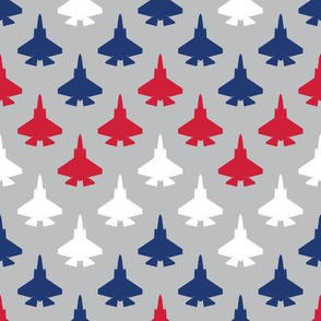 Jet Chevron (Red, White and Blue)