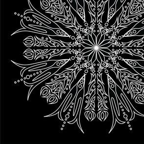 Mandala - Aster Flower