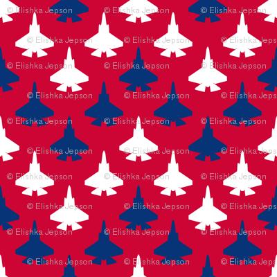 Jet Chevron (Patriotic)
