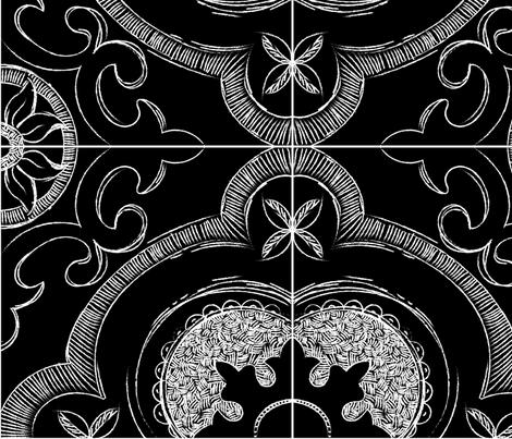 Farmhouse Moroccan fabric by peonydreamsart on Spoonflower - custom fabric