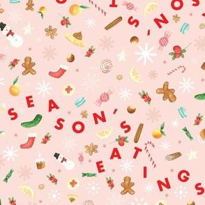 Season's Eatings Watercolor Treats