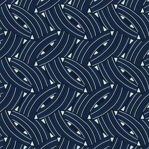 Woven Lines Arrows Geometric Graphic