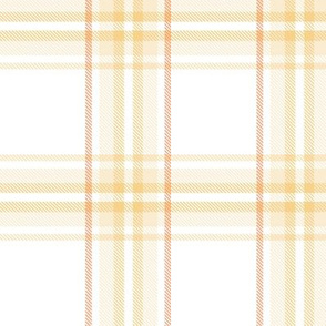 beige yellow gold white  plaid