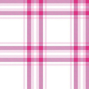 checkered pink plaid