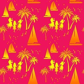 Rainbow Aloha Pink