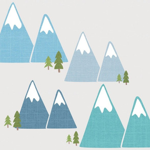 Large Scale Mountains