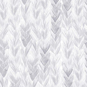 Knit, Purl Watercolor Paint - Grey