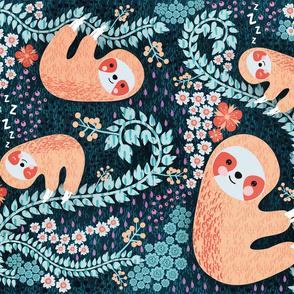 Sloth Cloth - Fat Quarter