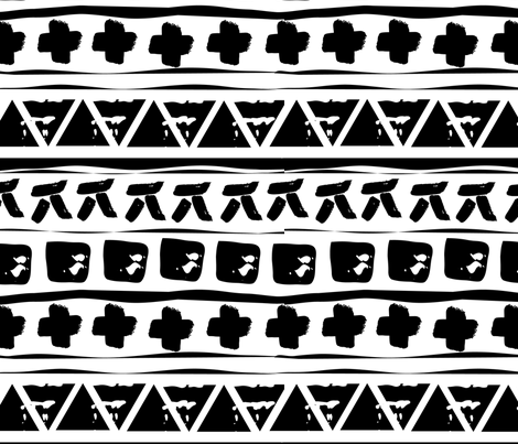 tribalmath fabric by liveinsoco on Spoonflower - custom fabric