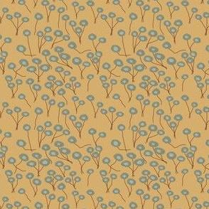 Glass Chrysanthemum Calico | Organic Eggshells