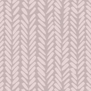 Brushed Herringbone - Large