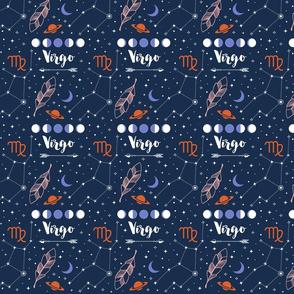 Virgo Zodiac Sign Pattern