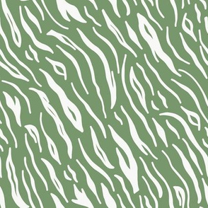 Green Tiger Stripes / Jungle Park