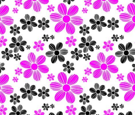 Magenta-black-color-summer-daisy-flower-pattern_shop_preview