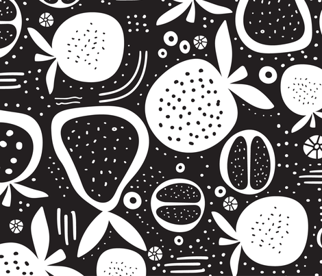 Dotti  fabric by lynnpriestleydesign on Spoonflower - custom fabric