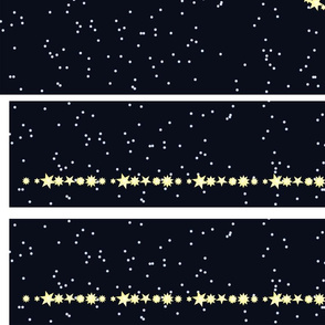 Triskele Constellation Runners  with borders