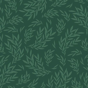 Art Nouveau Green / Morris Garden