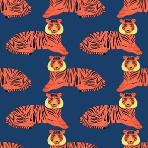 Tiger (Royal Blue)