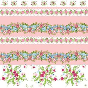 border spring bouquet blush roses & lace 2 - LG 12-ed