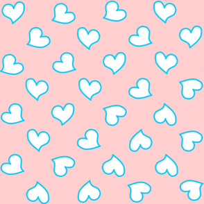 Pinkyblue trimhearts