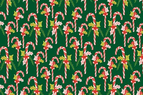 17350-118-CANDYCANES-KKATZ-SF fabric by kirstenkatz on Spoonflower - custom fabric