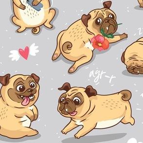 Funny pugs_large