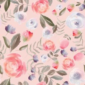 Romantic Garden in Pink