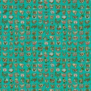 Find Topper Turquoise Jolt
