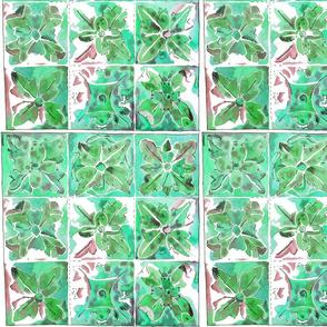 tunstall tile green