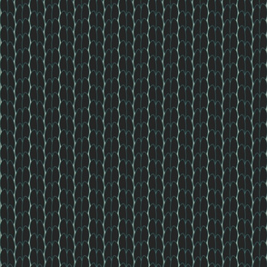 geo six scales-charcoal on celadon
