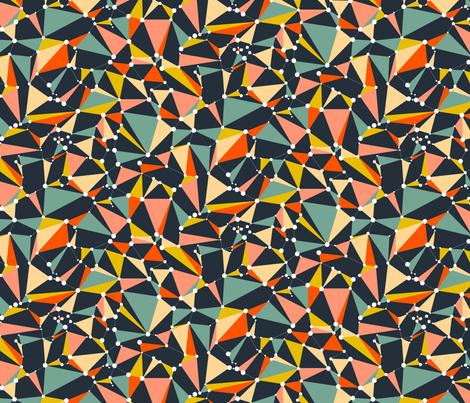 Three Into Twelve fabric by seesawboomerang on Spoonflower - custom fabric