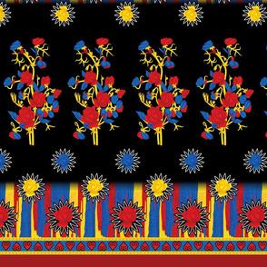 Floral Fabric Design