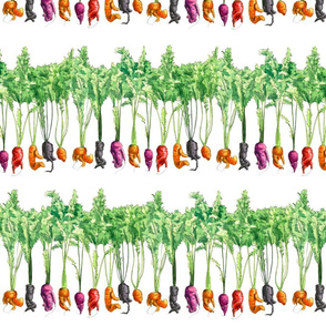 Funky Vegetables pattern