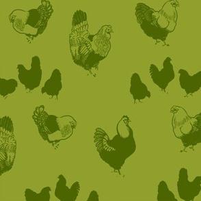 Hedemora Hens (green)