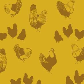 Hedemora Hens (yellow)
