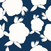 White flower whimsy