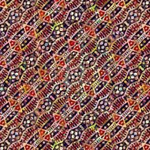 Cosy Colors: Diagonal Autumn Stripe