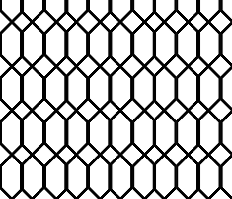 deco lattice-ed fabric by calico_fish_quilts on Spoonflower - custom fabric