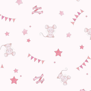 birthday mouse scatter pattern