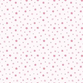 pink starry night