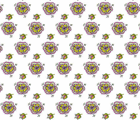 Blooms  fabric by unclemamma on Spoonflower - custom fabric