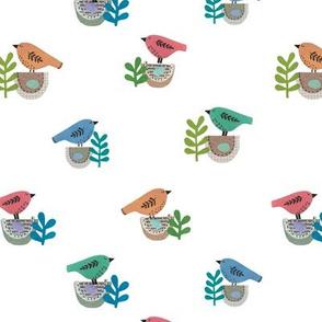 nesting  birds 2