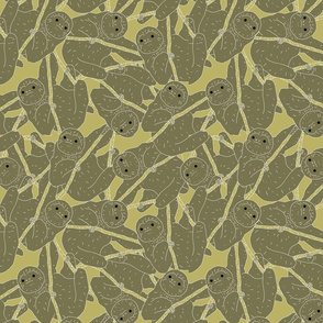 Sloth Repeating Pattern