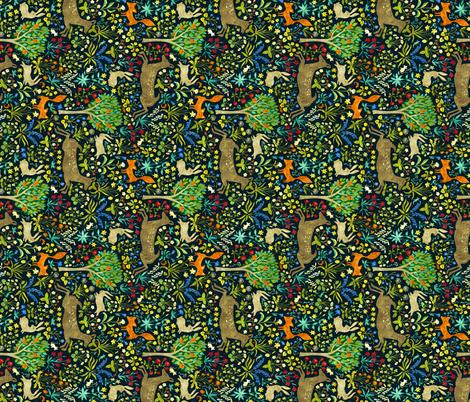 arazzomedievalesideways fabric by gaiamarfurt on Spoonflower - custom fabric