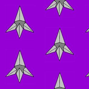 Caltrop on Purple