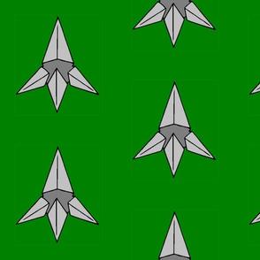 Caltrop on Green
