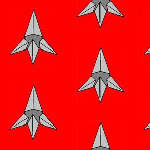 Caltrop on Red