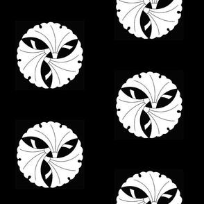 Three Grouped Gingko Leaves