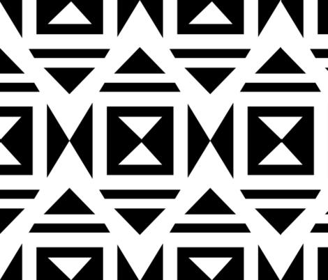 Diamonds in the Rough fabric by tomokosart on Spoonflower - custom fabric