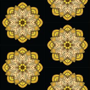 Mandala - Sunflower - Medium Scale